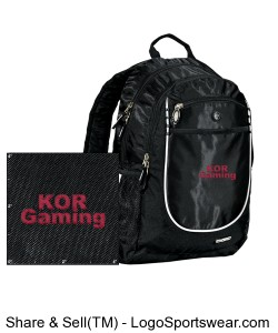 KOR gaming backpack Design Zoom