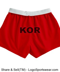 Girls cheerleader KOR shorts Design Zoom