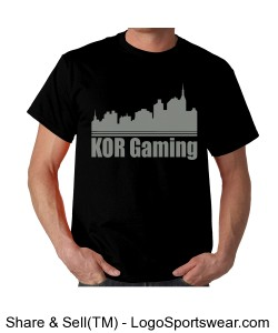 KOR city T shirt Design Zoom