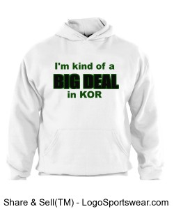 white hoodie big deal KOR Design Zoom