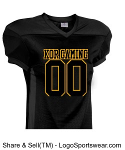 KOR football jersey Design Zoom