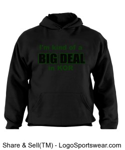 Hoodie big deal KOR Design Zoom